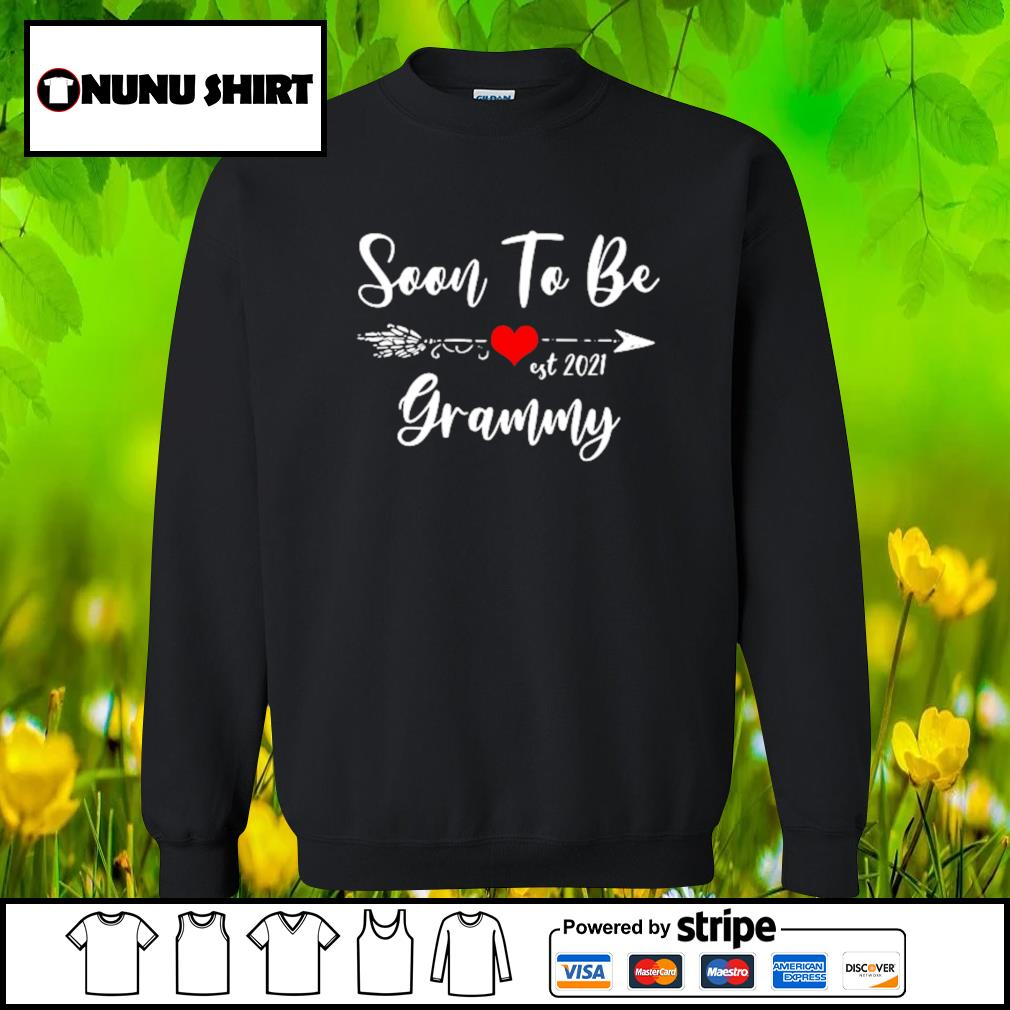 Pregnancy Announcement Soon to be grammy est 2021 s sweater