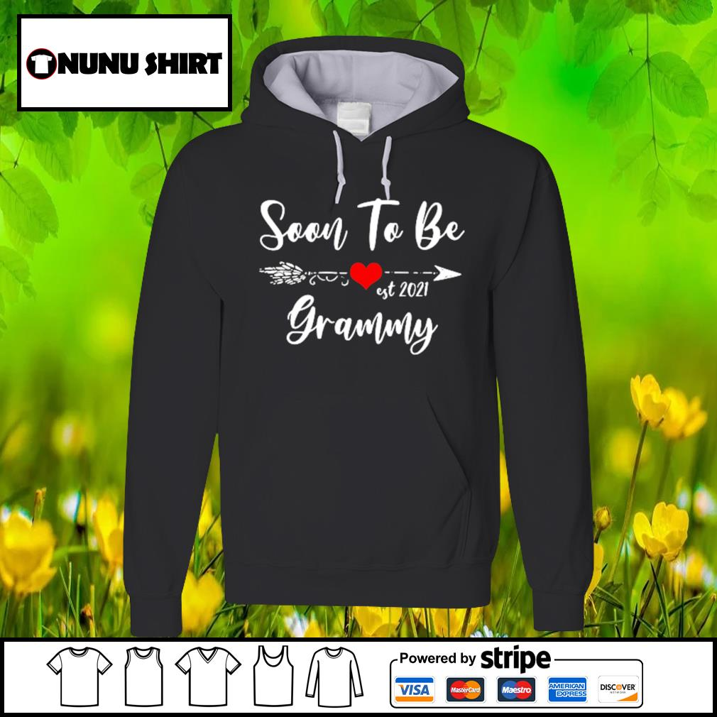 Pregnancy Announcement Soon to be grammy est 2021 s hoodie