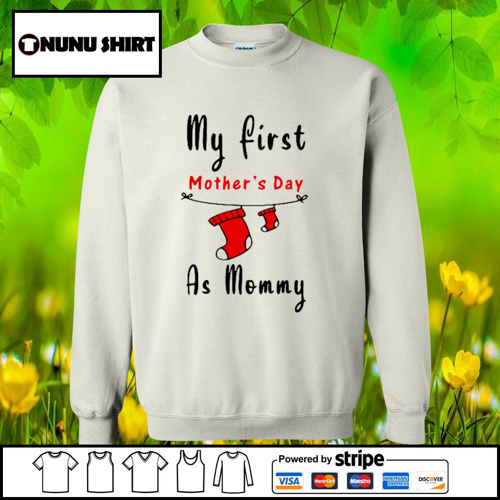 My first mother's day as mommy s sweater
