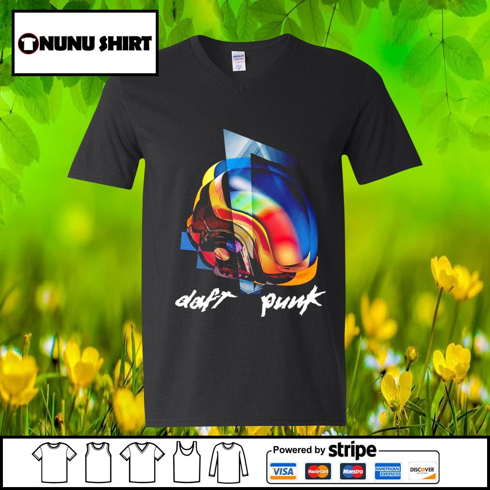 Around the world-Daft Punk s v-neck t-shirt