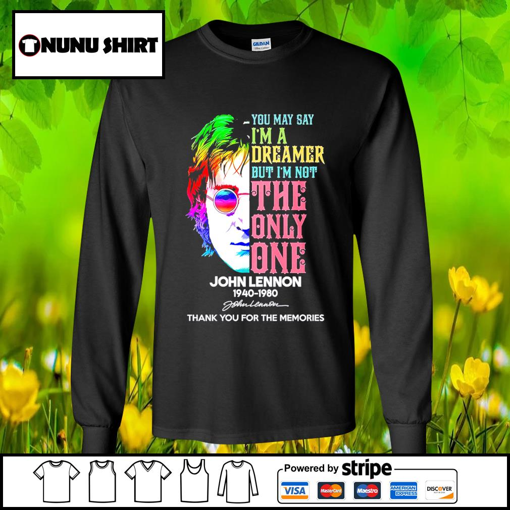Harry Potter you may say I'm a dreamer but I_m not the only one John Lennon 1940-1980 s longsleeve-tee
