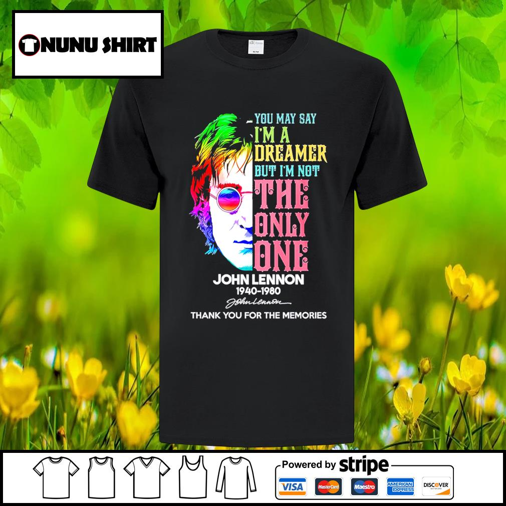 Harry Potter you may say I'm a dreamer but I_m not the only one John Lennon 1940-1980 shirt