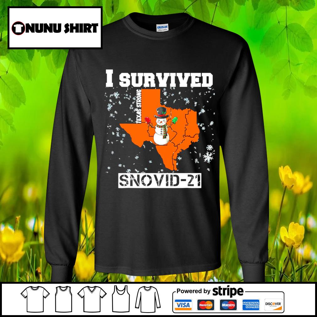 I survived Texas Strong snovid-21 s longsleeve-tee
