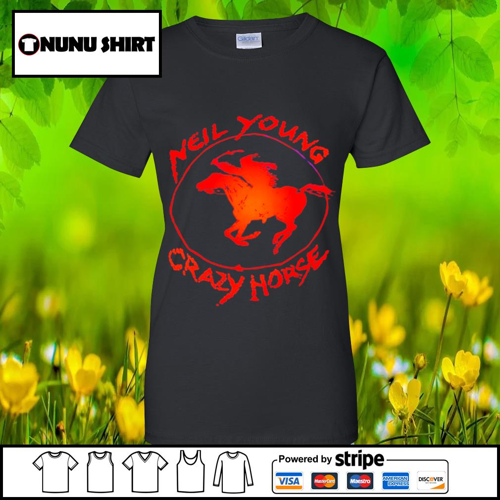 Neil young crazy horse s ladies-tee