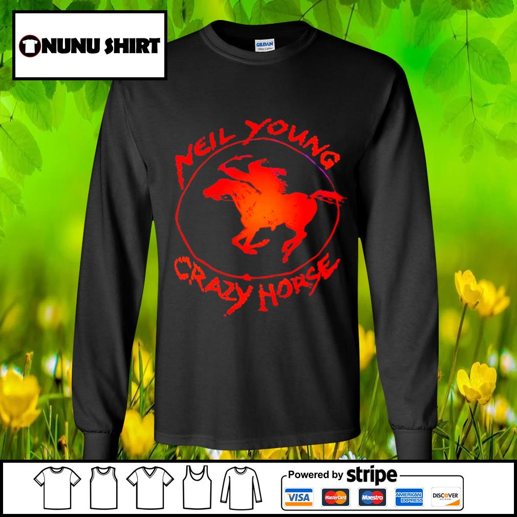 Neil young crazy horse s longsleeve-tee