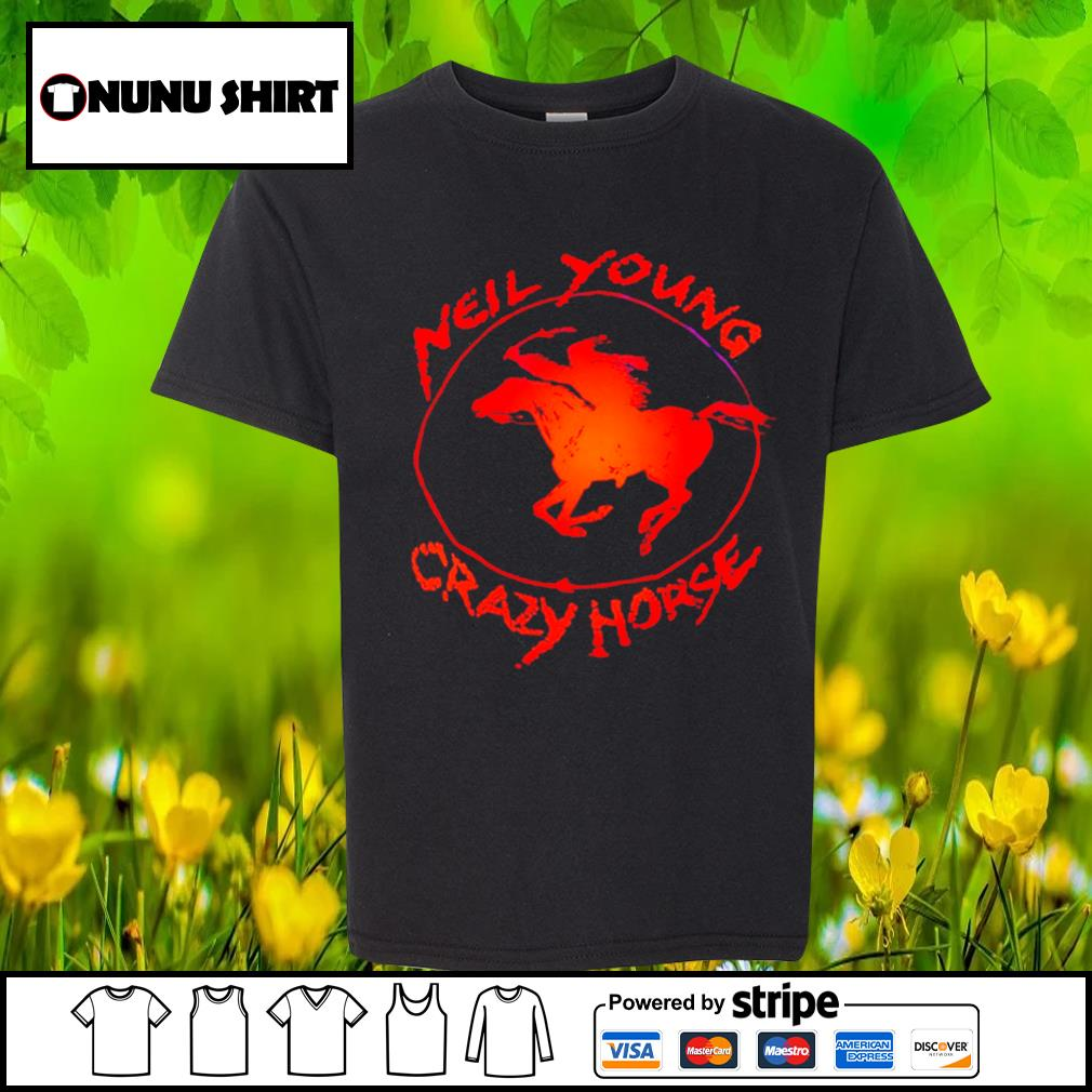 Neil young crazy horse s youth-shirt