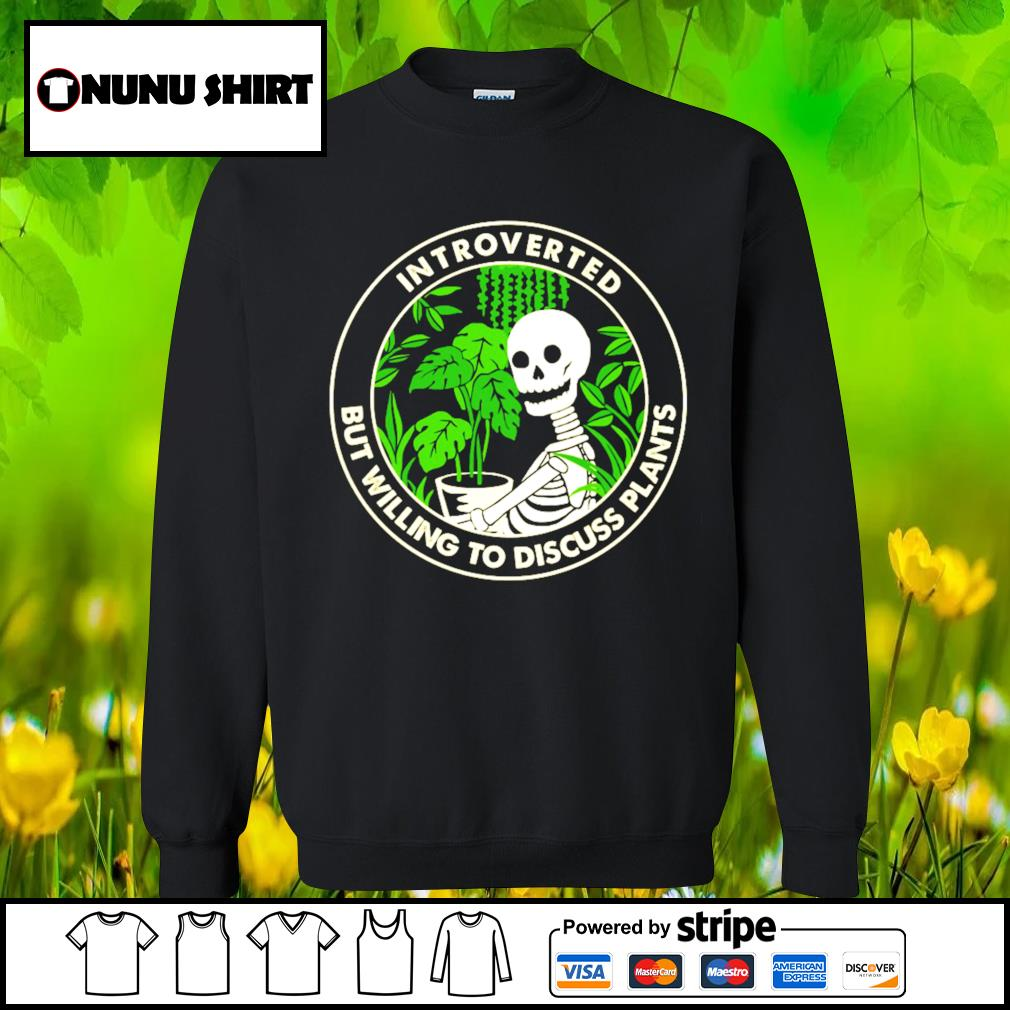 Skellington Introverted but willing to discuss plants s sweater
