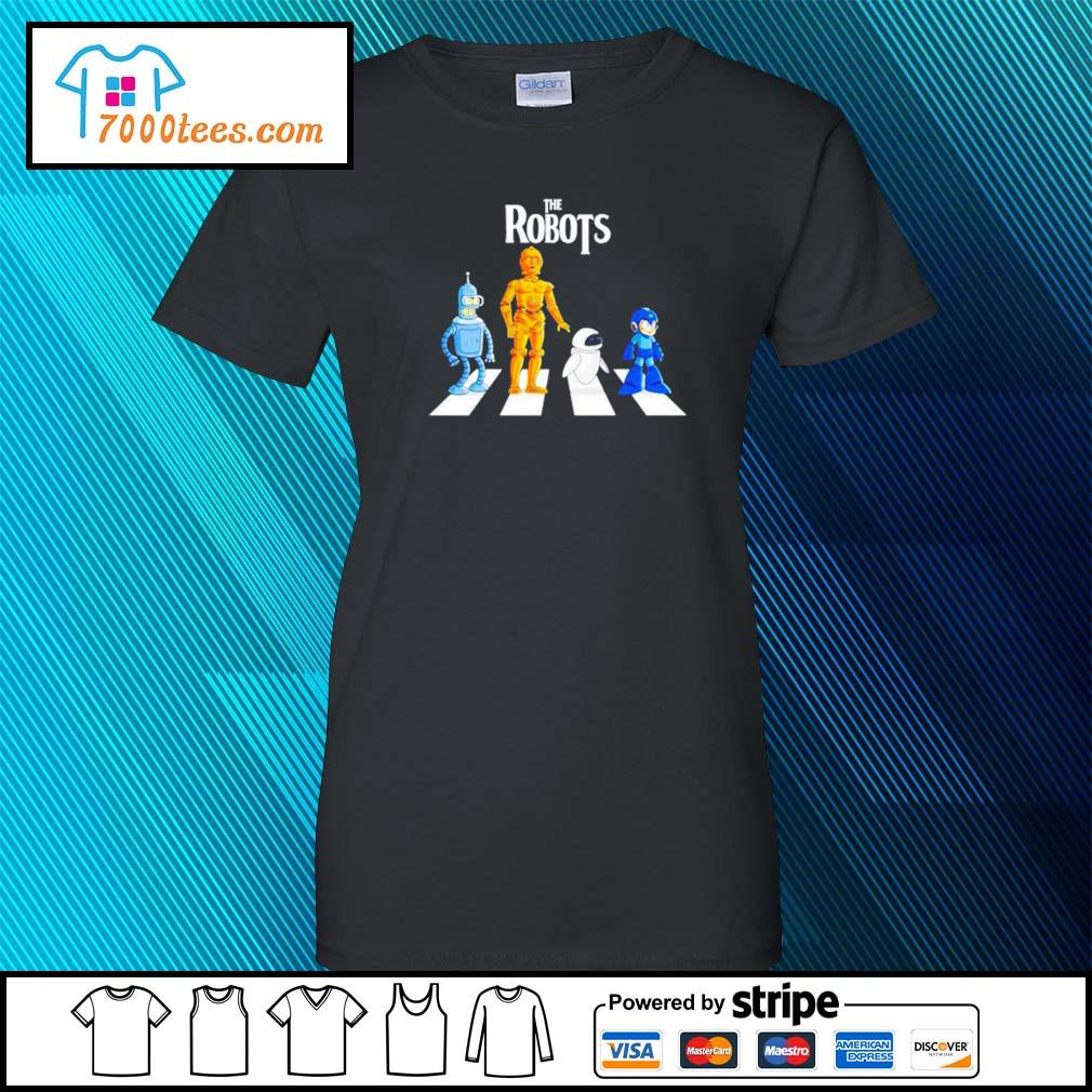 Star Wars The Robots Abbey Road ladies-tee