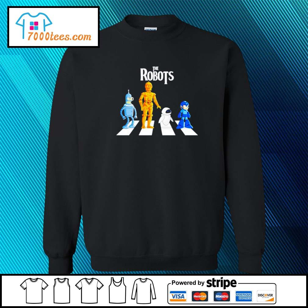 Star Wars The Robots Abbey Road sweater