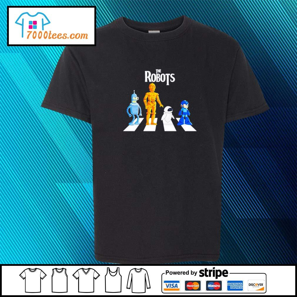 Star Wars The Robots Abbey Road youth-tee