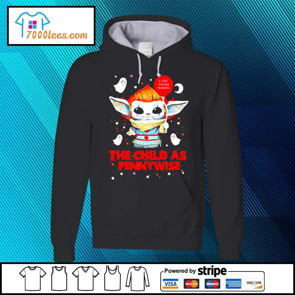 Baby Yoda Balloon the child as Pennywise Halloween s hoodie