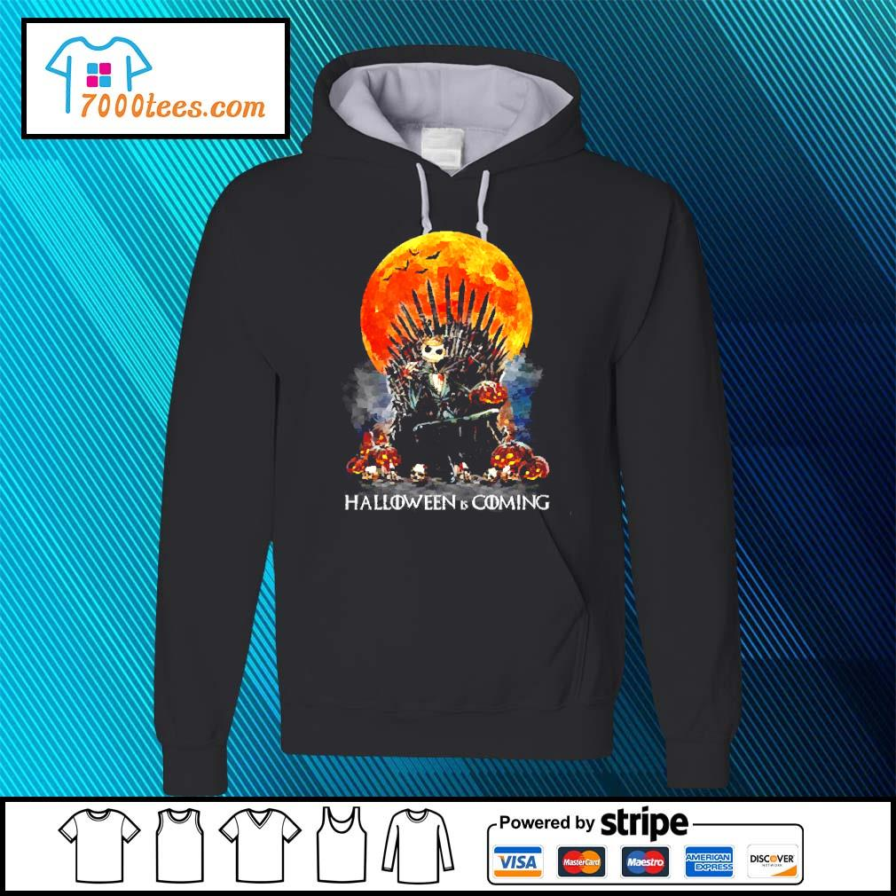 Michael Myers Halloween is coming s hoodie