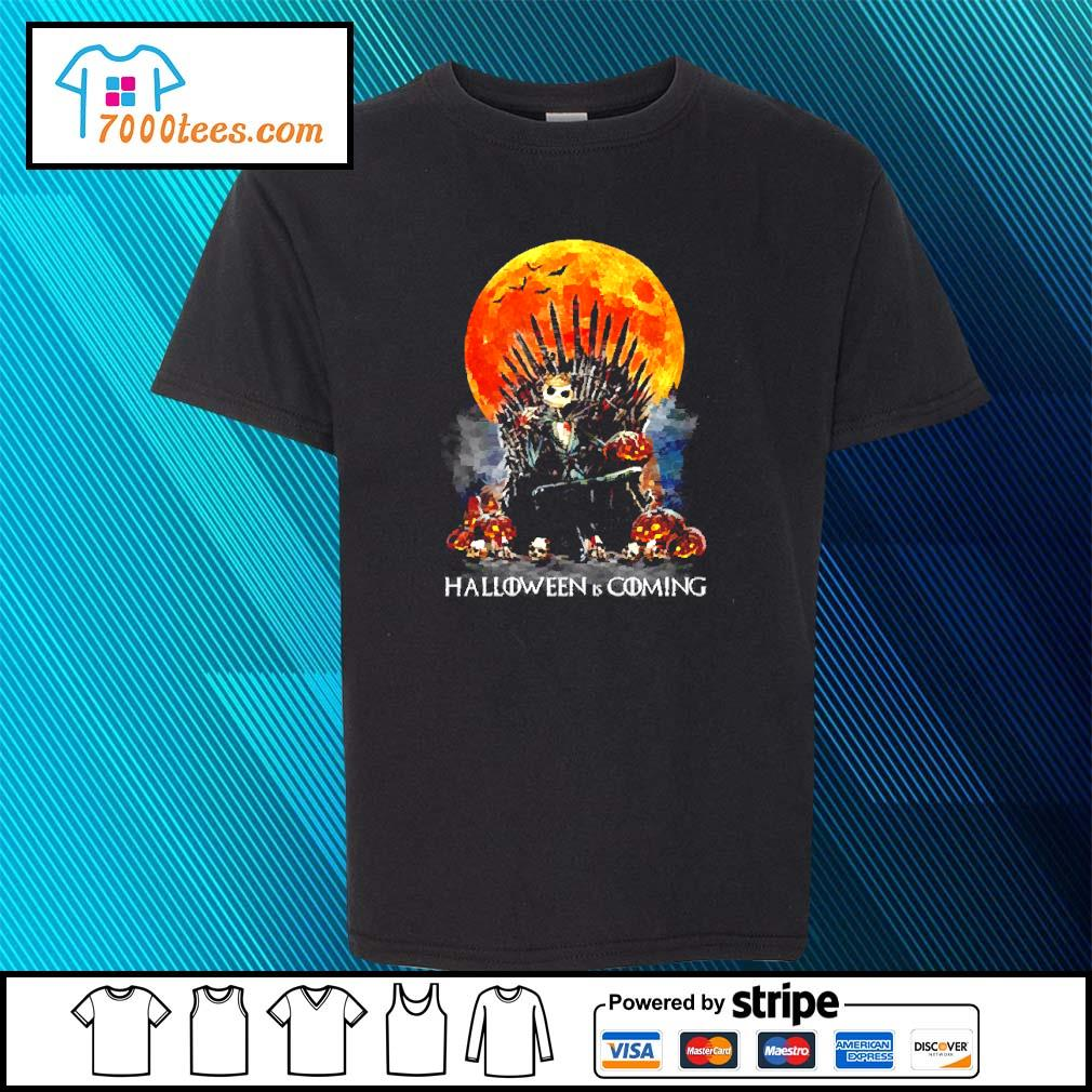 Michael Myers Halloween is coming s youth-tee