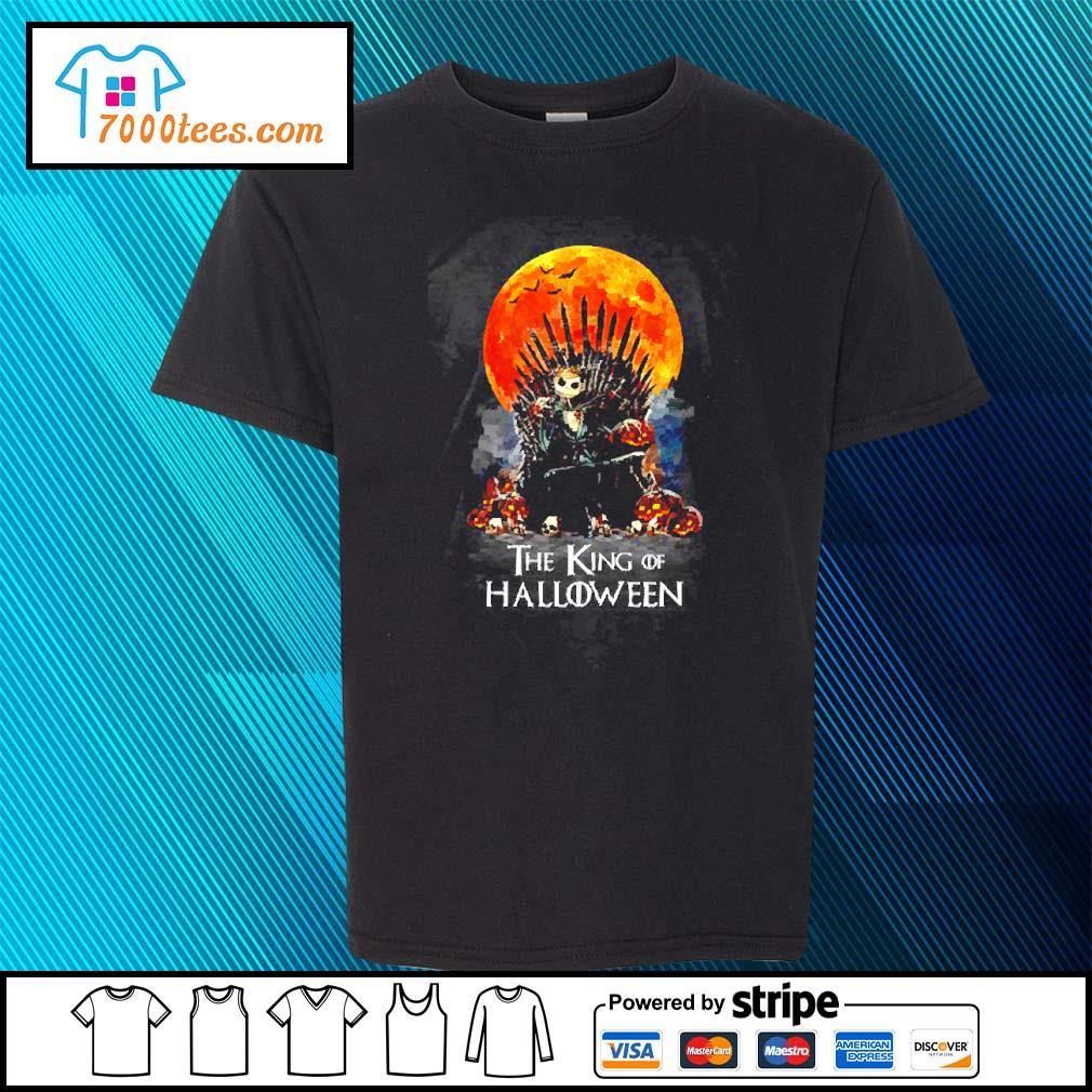 Michael Myers the king of Halloween s youth-tee