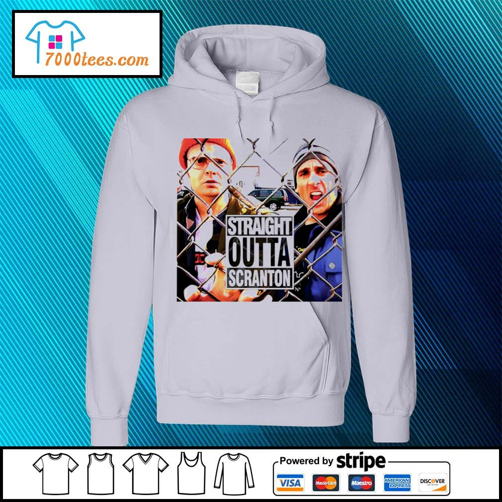 Straight outta scranton The Office Tv Show s hoodie
