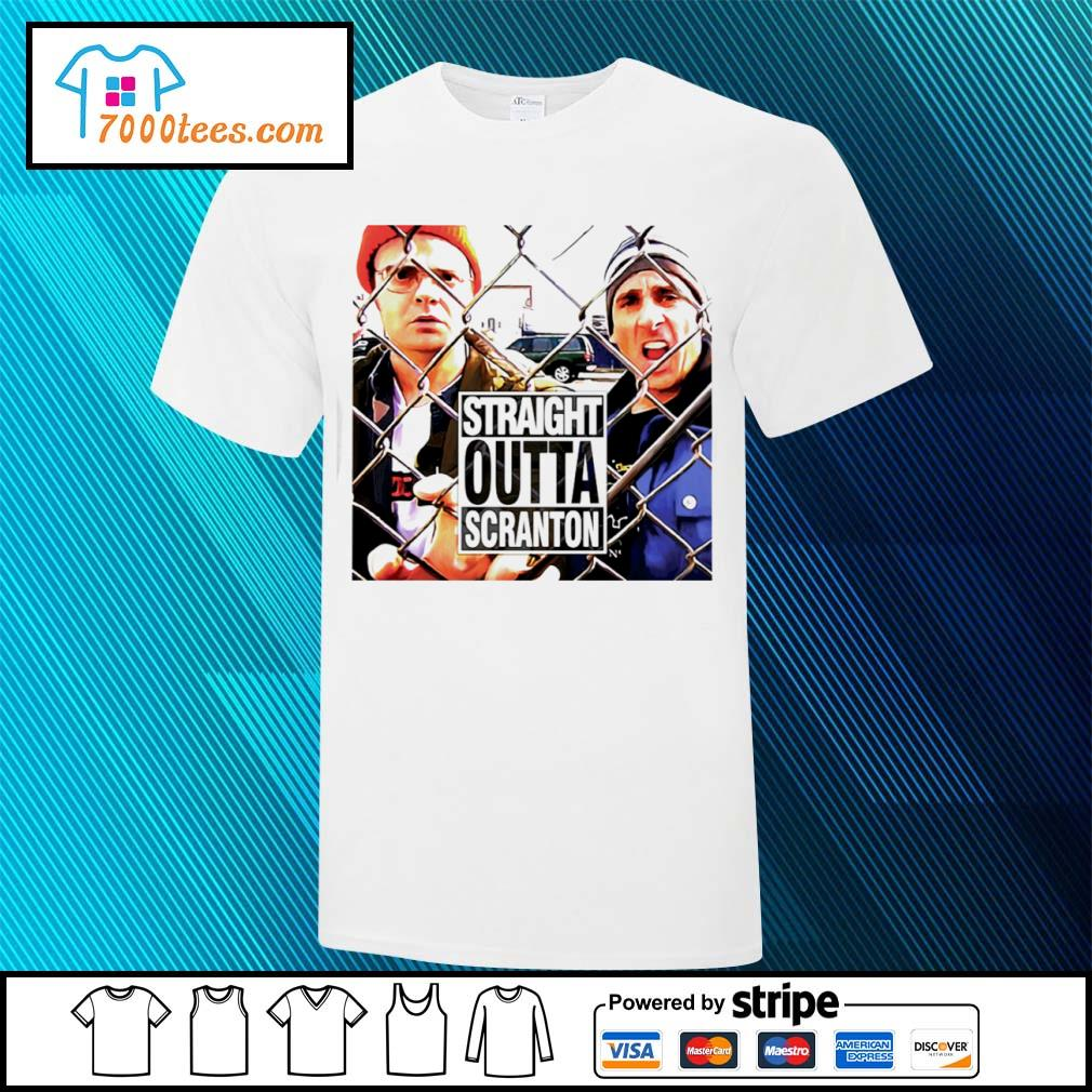 Straight outta scranton The Office Tv Show shirt
