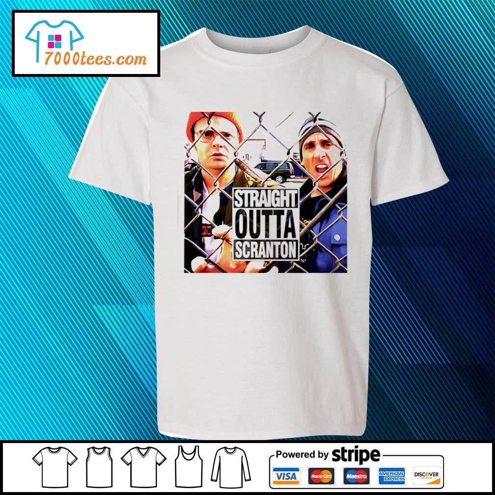 Straight outta scranton The Office Tv Show s youth-tee