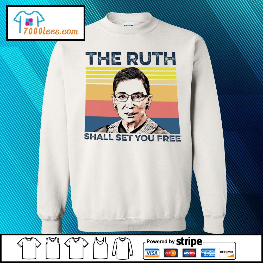 Vintage RBG The Ruth shall set you free s sweater