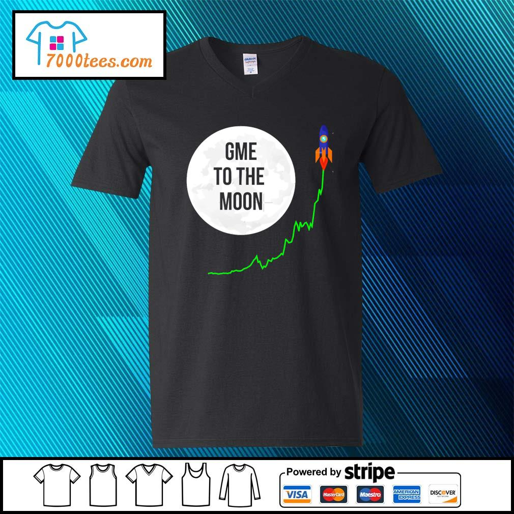 GameStonk GME To The Moon Cropped T-Shirt